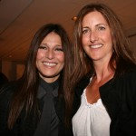 Catherine Keener with her fake sister, yours truly